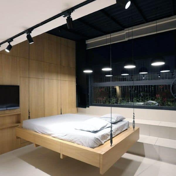 Contemporary Hanging Bed Ideas