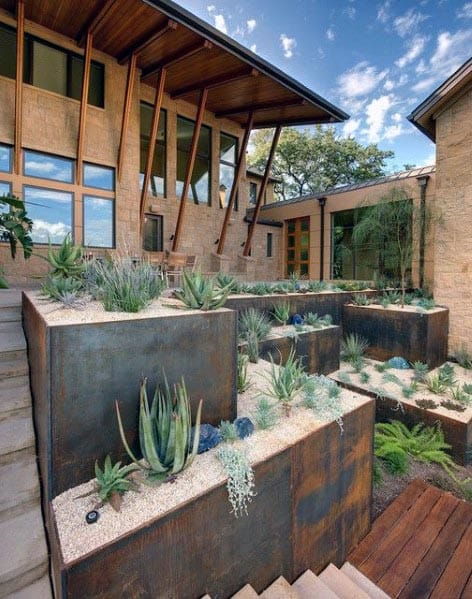 Contemporary Home Design Ideas Front Yard Landscaping