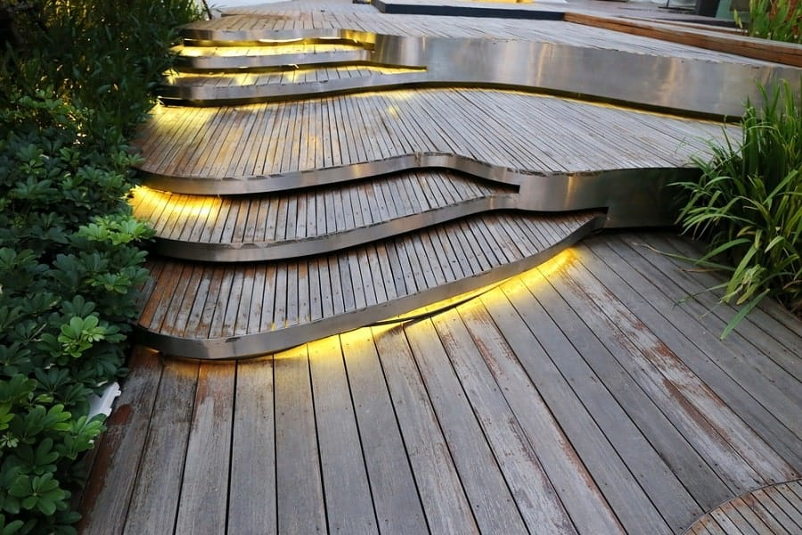 Contemporary Ideas For Home Wooden Walkway