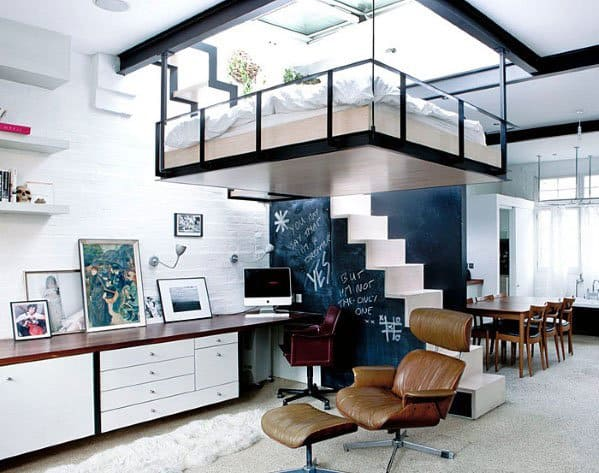 Brick Wall Interior Designs Studio Apartments Contemporary Ideas Apartment