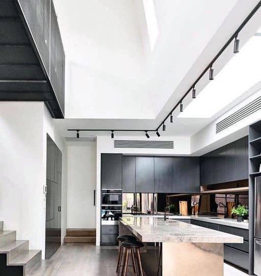 Best Kitchen Interior Design Ideas With: Top 60 Best Track Lighting Ideas