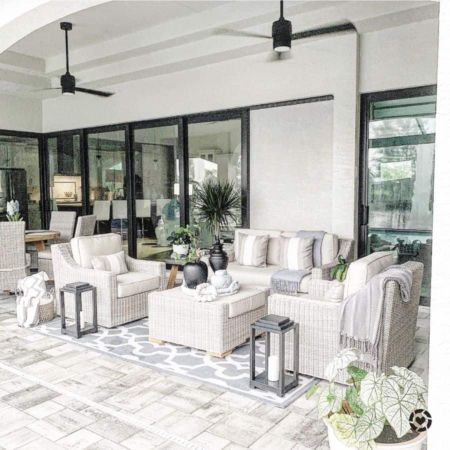 Contemporary Lanai Room Ideas Interiorsbydebbi