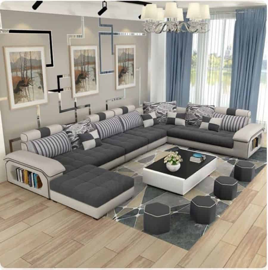 The Top 8 Large Wall Decor Ideas For Living Rooms - Interior Home