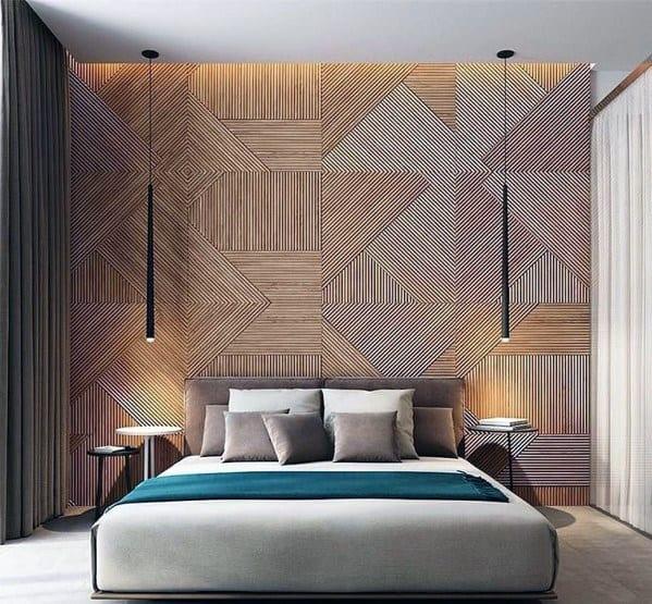 Contemporary Long Pendants Bedroom Lighting Ideas