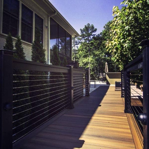 Contemporary Luxury Deck Railing
