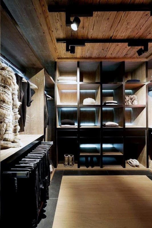 Contemporary Male Closet Designs