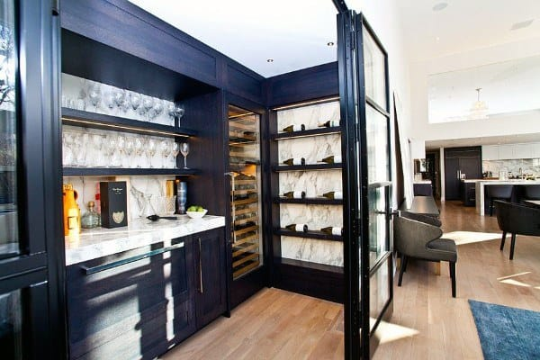 Contemporary Mini Bar Ideas