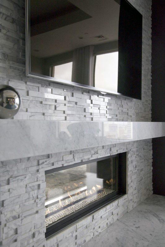 Contemporary Modern Fireplace Design Ideas