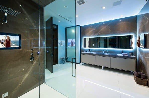 Top 50 Best Bathroom Lighting Ideas, Modern Led Bathroom Lighting