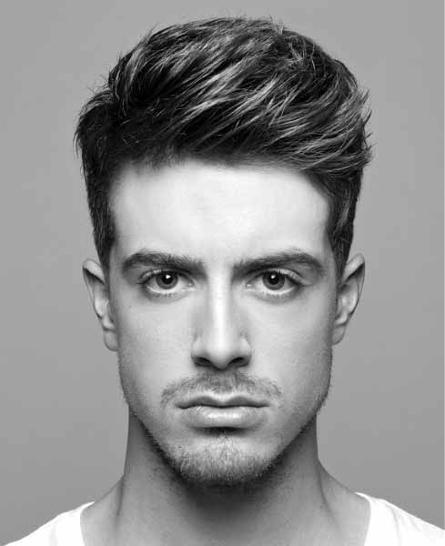 Contemporary Modern Medium Length Mens Hair Styles