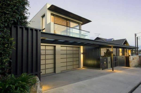 Contemporary Outdoor Garage Lighting Ideas