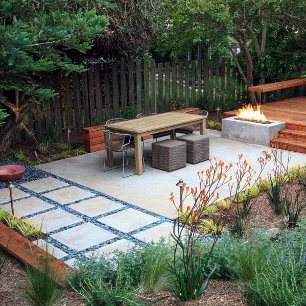 top 50 best river rock landscaping ideas