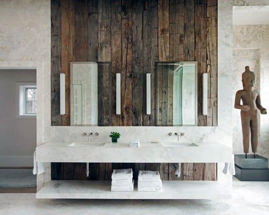 Contemporary Rustic Bathroom Ideas
