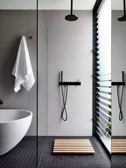 grey bathroom color ideas