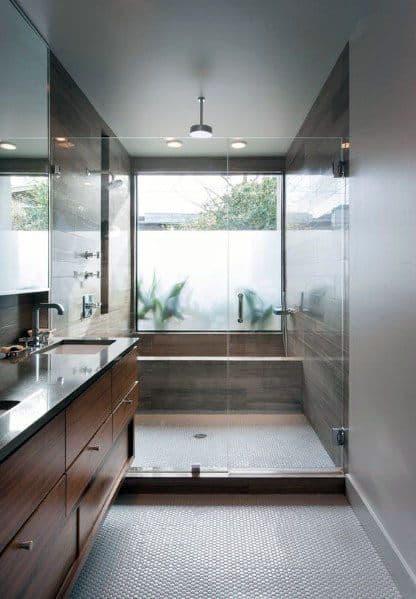 Contemporary Shower Window Ideas