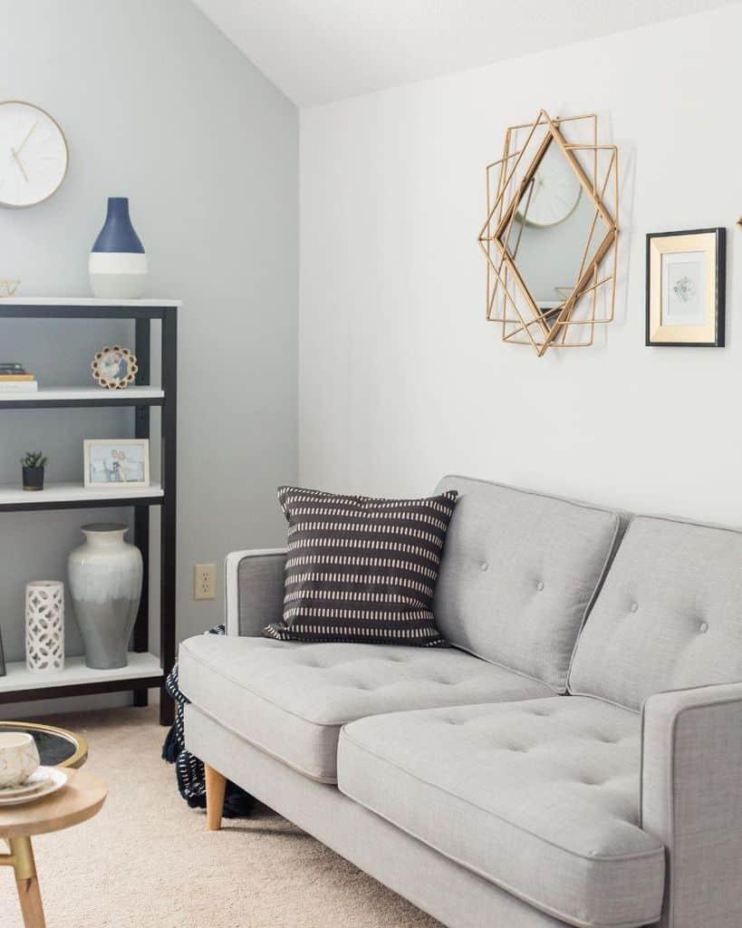 contemporary small apartment living room ideas tiffanyjanellcreativestudio