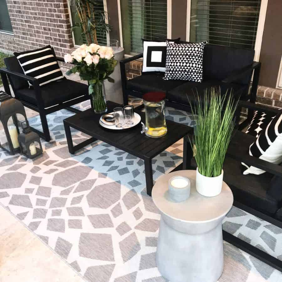 Contemporary Small Patio Ideas 2 Homesbyhadley