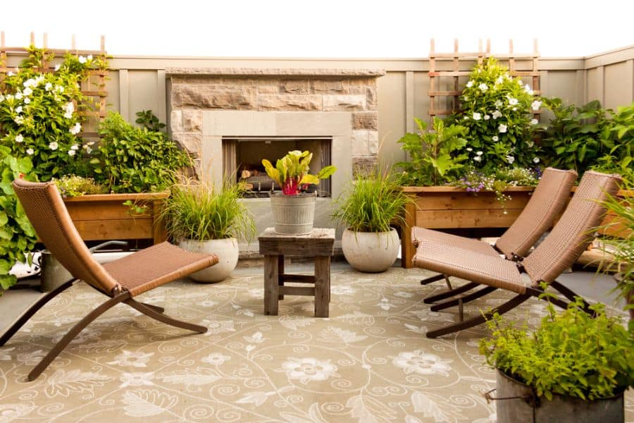 Contemporary Small Patio Ideas 31