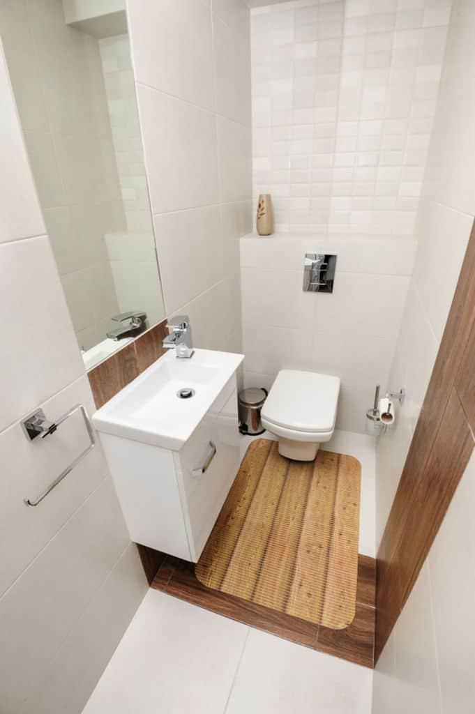 Contemporary Small Powder Room Ideas 5