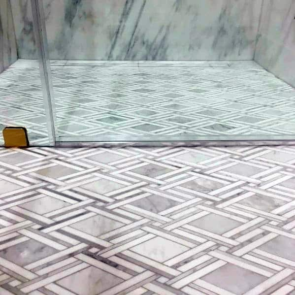 pattern bathroom floor tile ideas