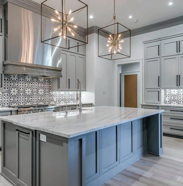 Eye For Design Grey Interiors Refined And Sophisticated: Top 70 Best Kitchen Cabinet Ideas