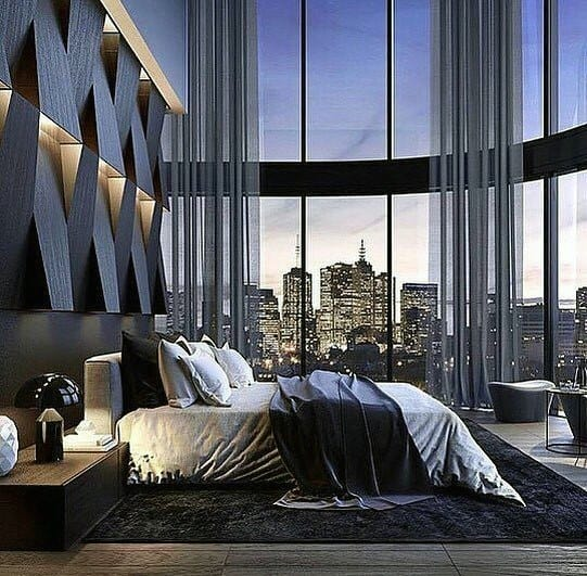 Contemporary Wall Design Ideas For Home Bedroom Lighting
