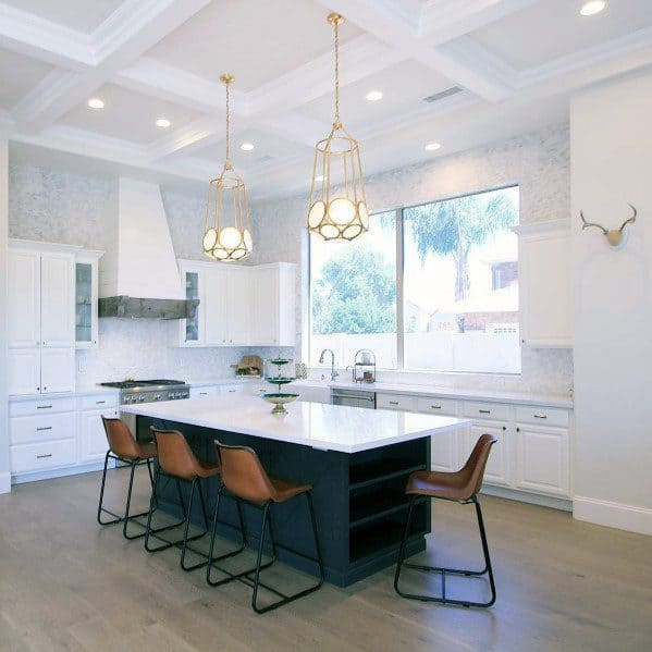 60 Kitchen Interior Design Ideas With Tips To Make One: Top 75 Best Kitchen Ceiling Ideas