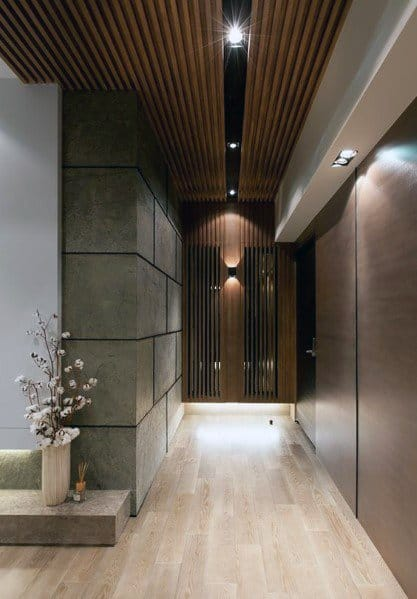 Contemporary Wood Ceiling Ideas