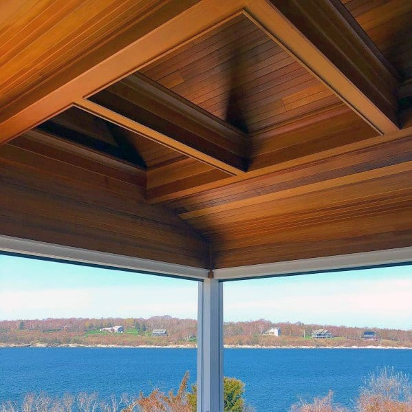 Contemporary Wood Idea Inspiration Porch Ceiling Designs