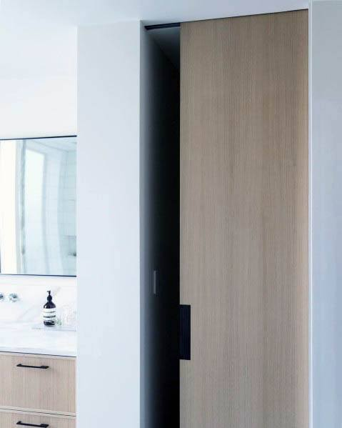 Contemporary Wood Pocket Door Ideas Inspiration