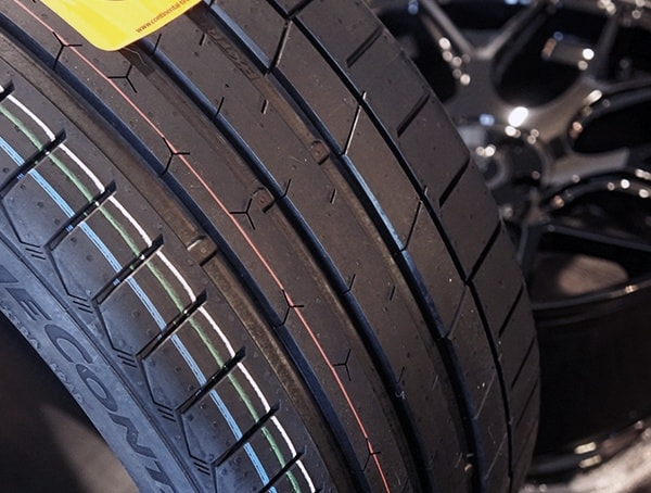 Continental Extremecontact Sport Tire Tread Detail Up Close