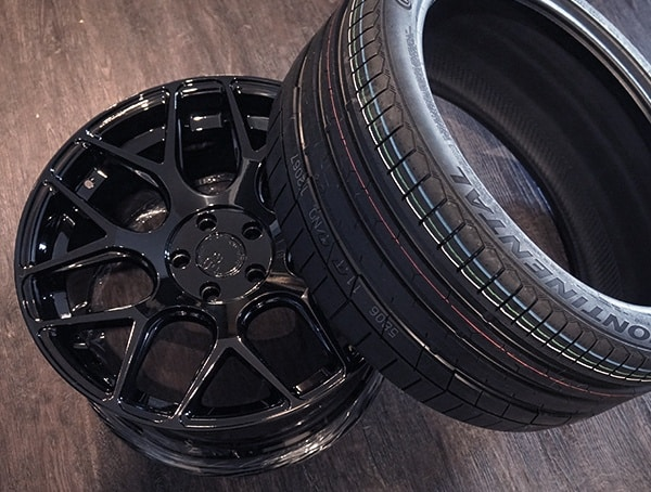 Continental Extremecontact Sport Tires With Avant Garde M590 Wheels
