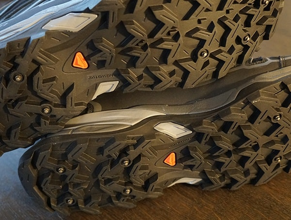Contragrip Salomon X Ultra Mid 2 Spikes Gtx Hiking Shoes For Men