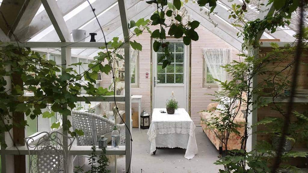 Converted Greenhouse She Shed Ideas Fru Josdal Hagememoarer