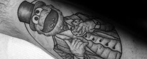 30 Cookie Monster Tattoo Designs For Men – Muppet Ink Ideas