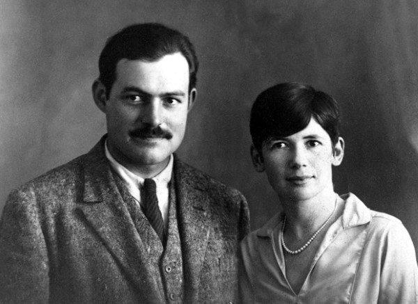 Cool 1920s Mens Hairstyles Ernest Hemingway