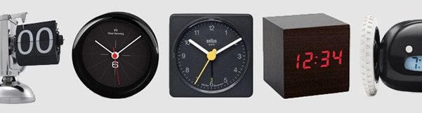cool alarm clocks for men