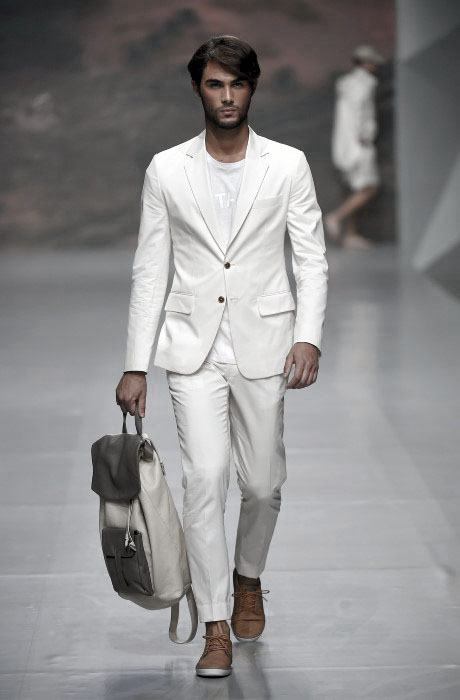 Cool All White Outfit Looks For Men