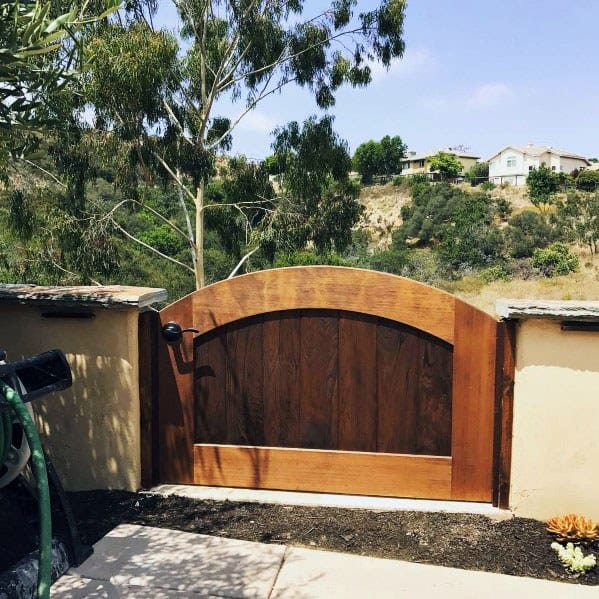 Top 40 Best Wooden Gate Ideas