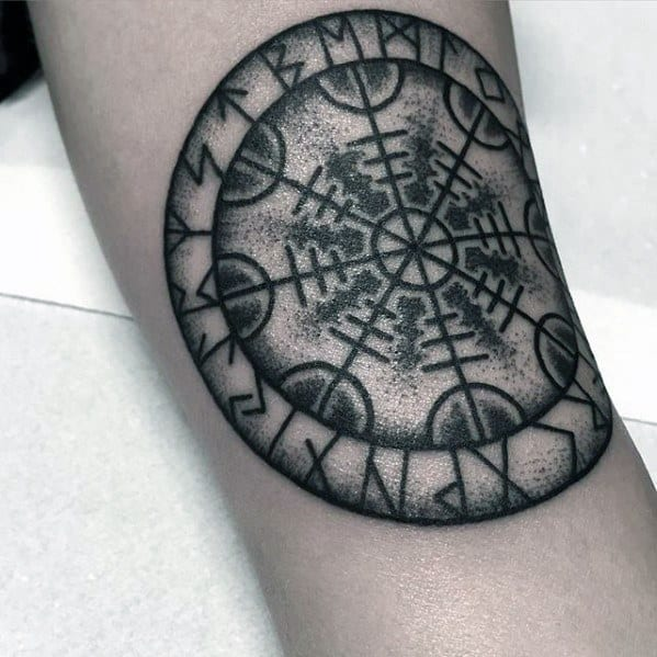 Cool Arm Helm Of Awe Tattoo Design Ideas For Male