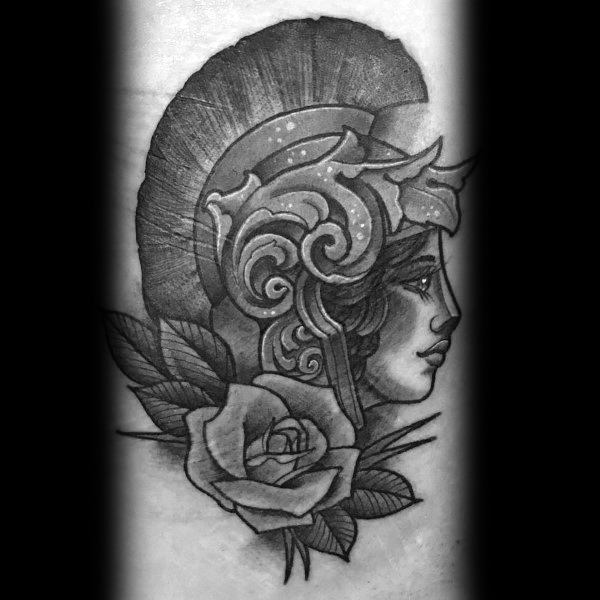 Cool Athena Tattoos For Men