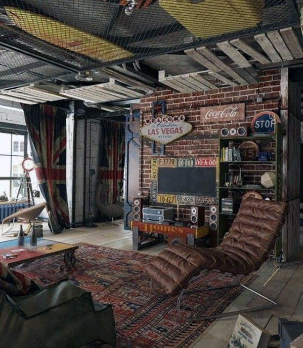 Cool Awesome Man Caves Design Inspiration For Men