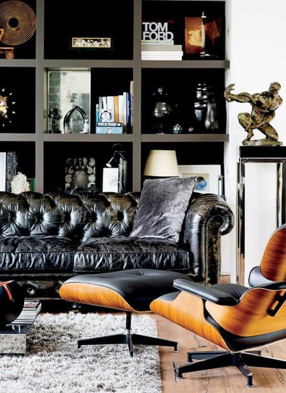 Cool Bachelor Pad Living Room Design Idea Inspiration For Gentlemen
