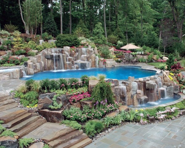 Most Amazing Backyards top 60 best cool backyard ideas - outdoor retreat designs