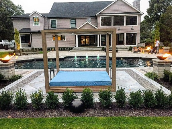 Cool Backyard Ideas With Pool - Top 60 Best Cool Backyard Ideas - Outdoor Retreat Designs