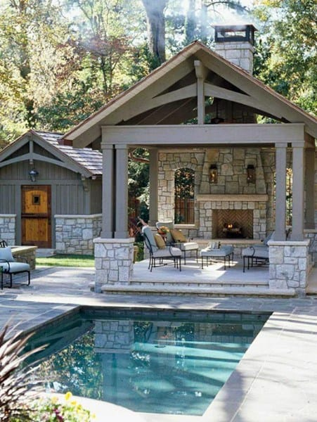 Cool Backyard Pavilion Ideas