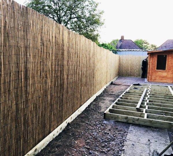 Cool Bamboo Fence Design Ideas