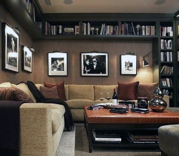 Cool Basement Man Cave Design Ideas For Men