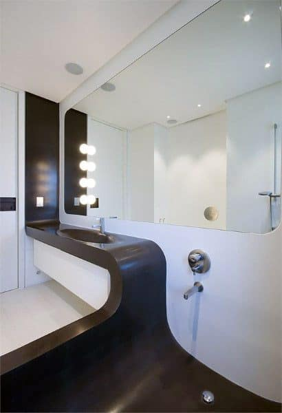 Cool Bathroom Decorating Ideas Custom Sink And Shower