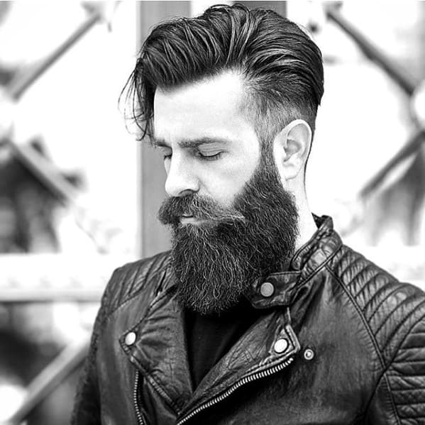 Cool Beard Facial Hair Male Styles